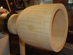 Ailanthus bowl number one has taken shape.