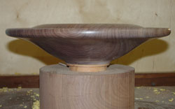 Another view of my walnut bowl.