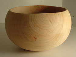 Pear bowl, my second ITE vessel.