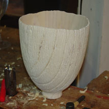 Ailanthus bowl number three, finished.