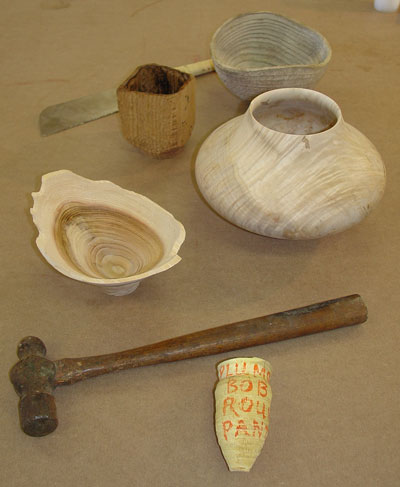 Another view of the objects we chose.