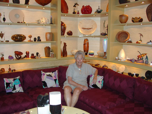Fleur Bresler with a few of her treasures.
