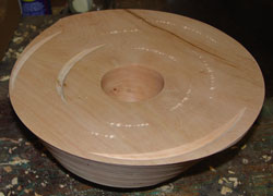 My multiaxis cherry bowl.