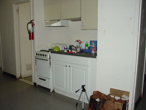 My kitchen area.