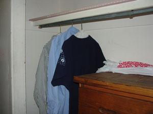 My closet.