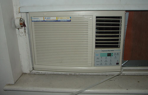 The air-conditioner.