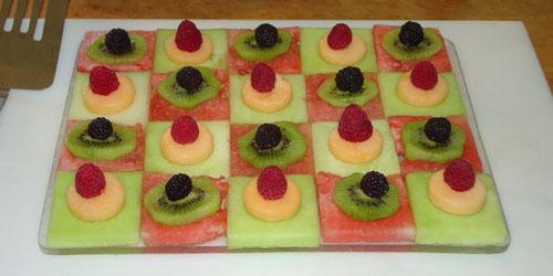 Mark's fruit salad.