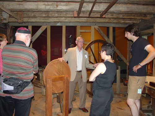 Charles Hummel tells us about the great wheel lathe.