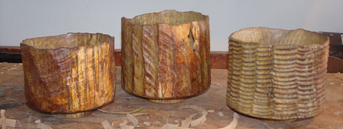 Jean-François's spalted ash series.