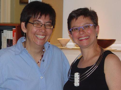 Elisabeth and I.