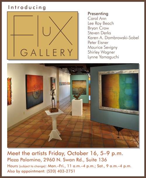 October 16 grand opening of Flux Gallery