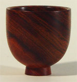 Jatoba cup or bowl