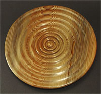 """In and Out of Love"": Sinker cypress plate"