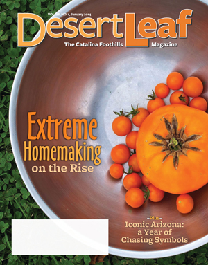 DesertLeaf, January 2014 cover.